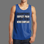 Champions Expect Pain Mens Tank