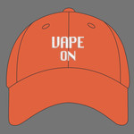 Vape On Embroidered Hat