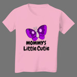 Butterfly Mommy's Little Cutie Toddler Tshirt